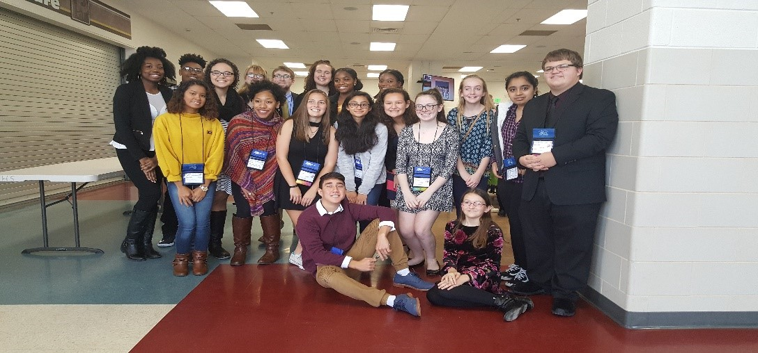Student delegates of HCRASC attend 2017 MASC Fall Leadership Conference
