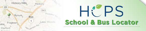 HCPS School and Bus Locator