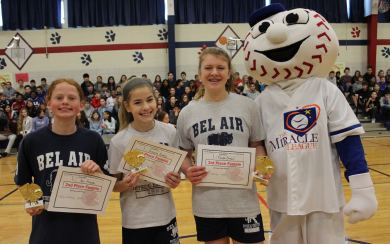 Bel Air Middle Organizes Successful Hoops for Hope Event