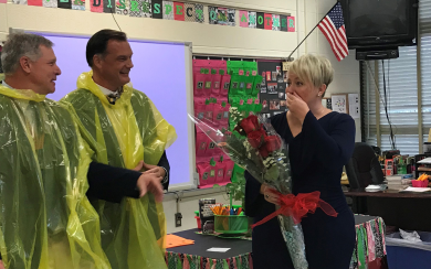 Paige Milanoski Named a State Teacher of the Year Finalist