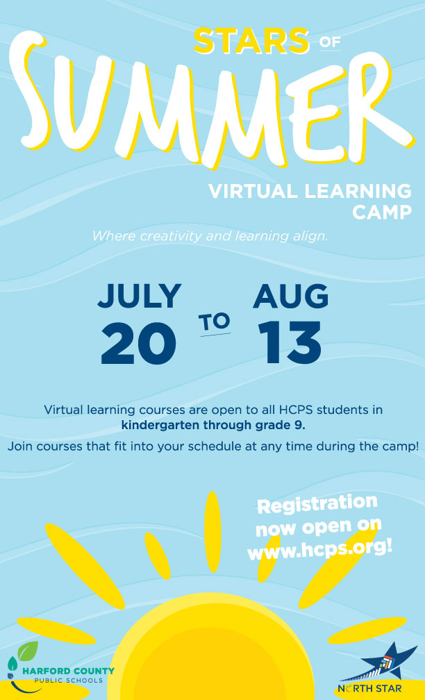 Click here to register for Stars of Summer Virtual Learning Camp